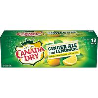 Print a coupon for $0.75 off any 12-pack of cans of Canada Dry Ginger Ale and Lemonade 1