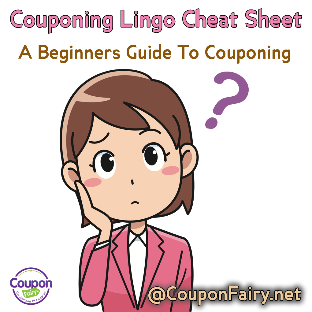 The Thrifty Coupon Lingo Cheat-Sheet v1 1